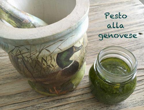 Pesto alla Genovese ed è subito colore!