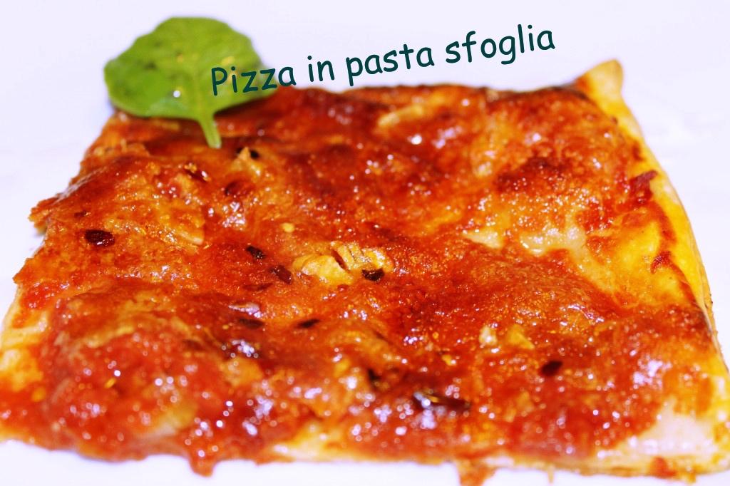 pizza in pasta sfoglia