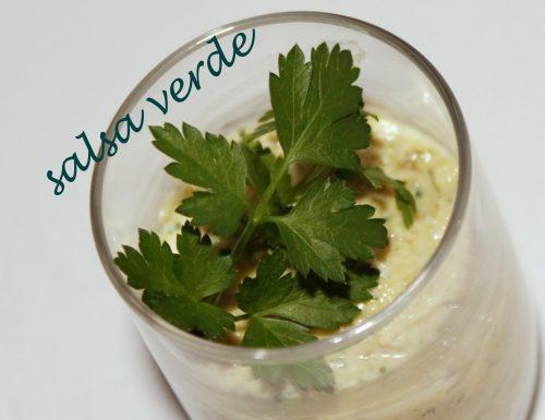 Salsa verde una ricetta facile facile