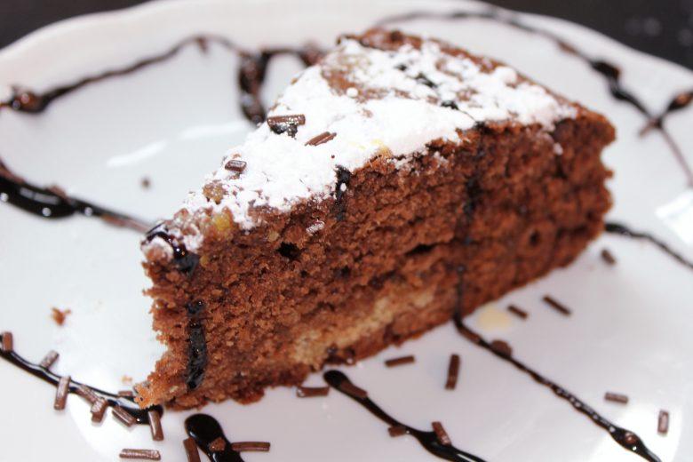 Torta di Cacao e zenzero