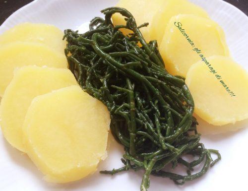 Salicornia.. gli asparagi di mare!