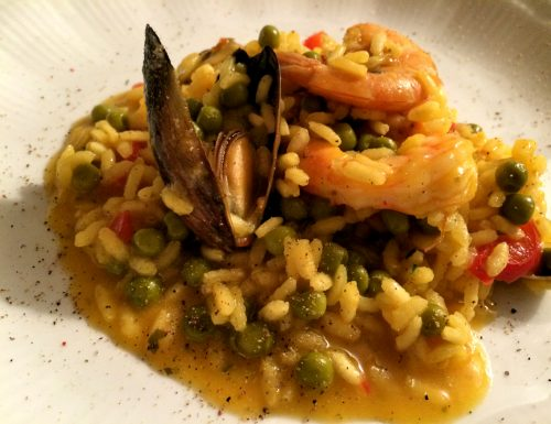 Paella di pesce  (speedy and normal version)