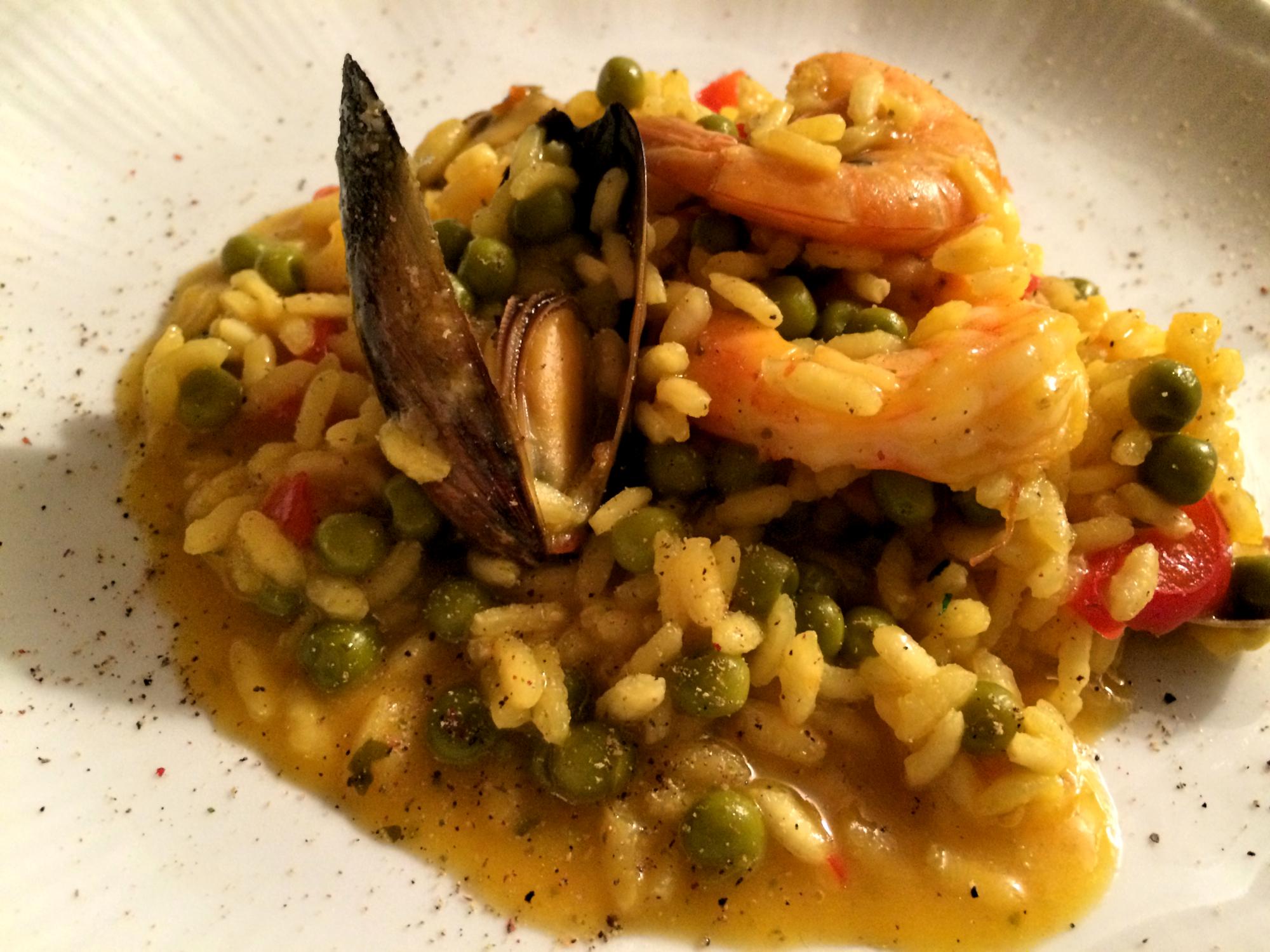 Paella di pesce  (speedy and normal version)