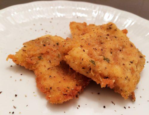Petti di pollo mignon con panatura aromatica