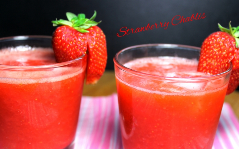Strawberry Chablis