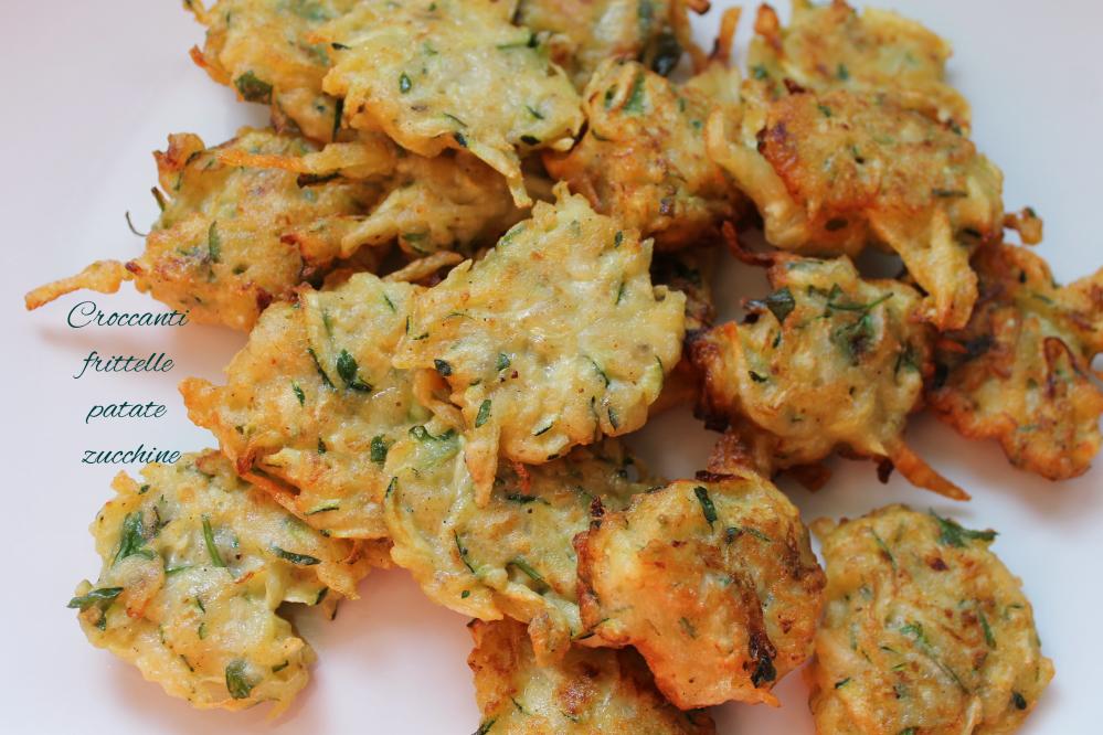 frittelle patate zucchine