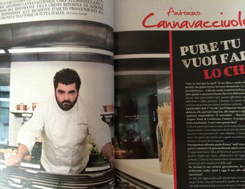 Pure tu vuoi fare lo chef? Intervista a Antonino Cannavacciuolo!