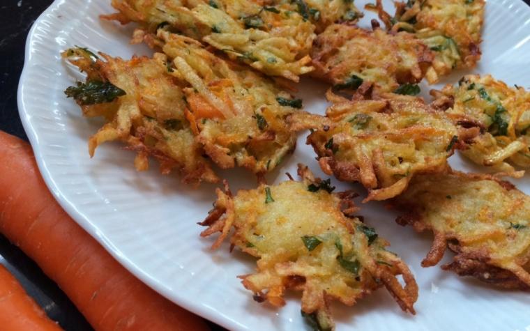 Frittelle Saporitissime Patate e Carote