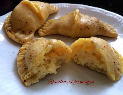 Ravioloni al formaggio – finger food