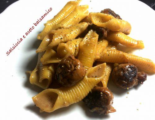 Condimento salsiccia e aceto balsamico