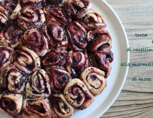 Torta a roselline alla marmellata