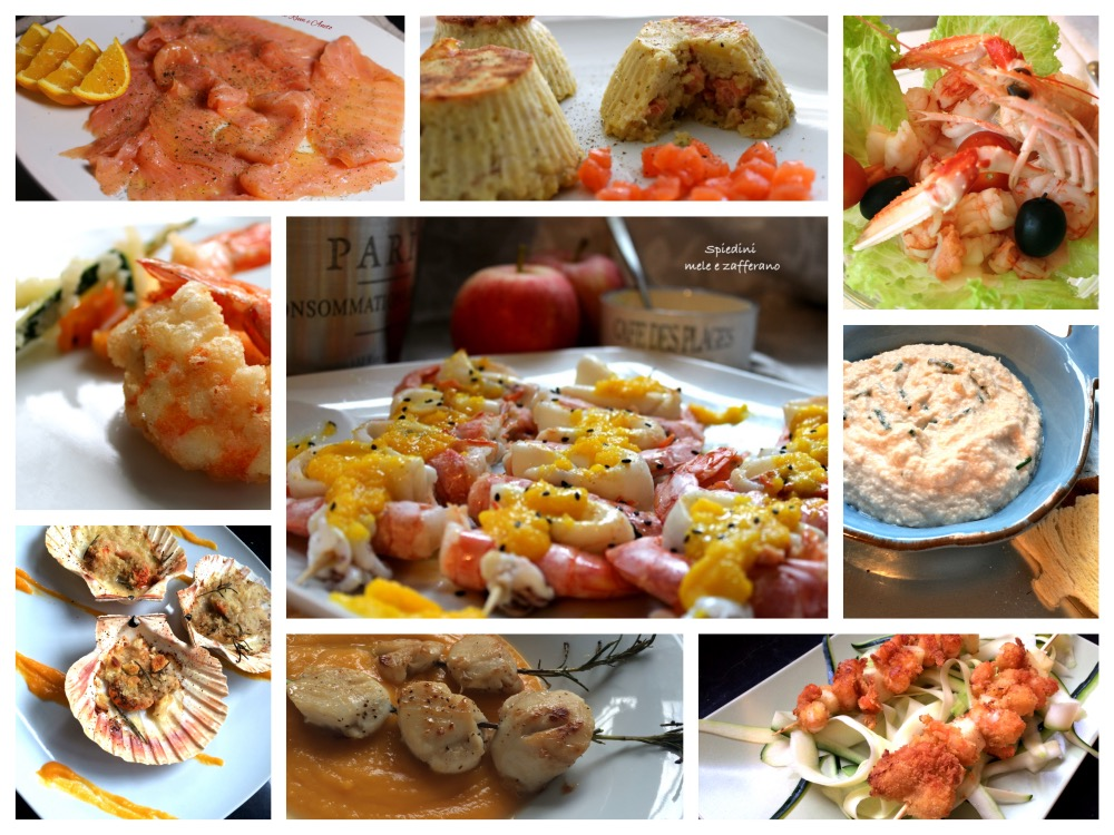 Collage ANTIPASTI DI PESCE