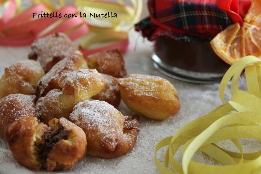 Frittelle con la Nutella