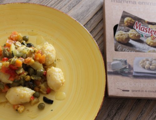 Gnocchi Master Mamma Emma ripieni con gorgonzola, al ragù vegetariano