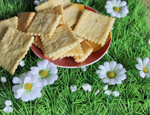Cracker al timo: veloci e squisiti!