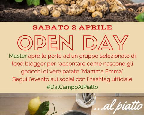 Gnocchi Master Mamma Emma: open day #dalCampoAlPiatto