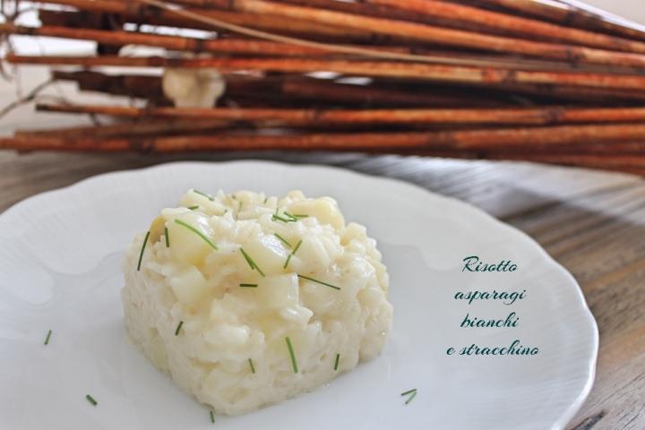 risotto asparagi bianchi e stracchino 3