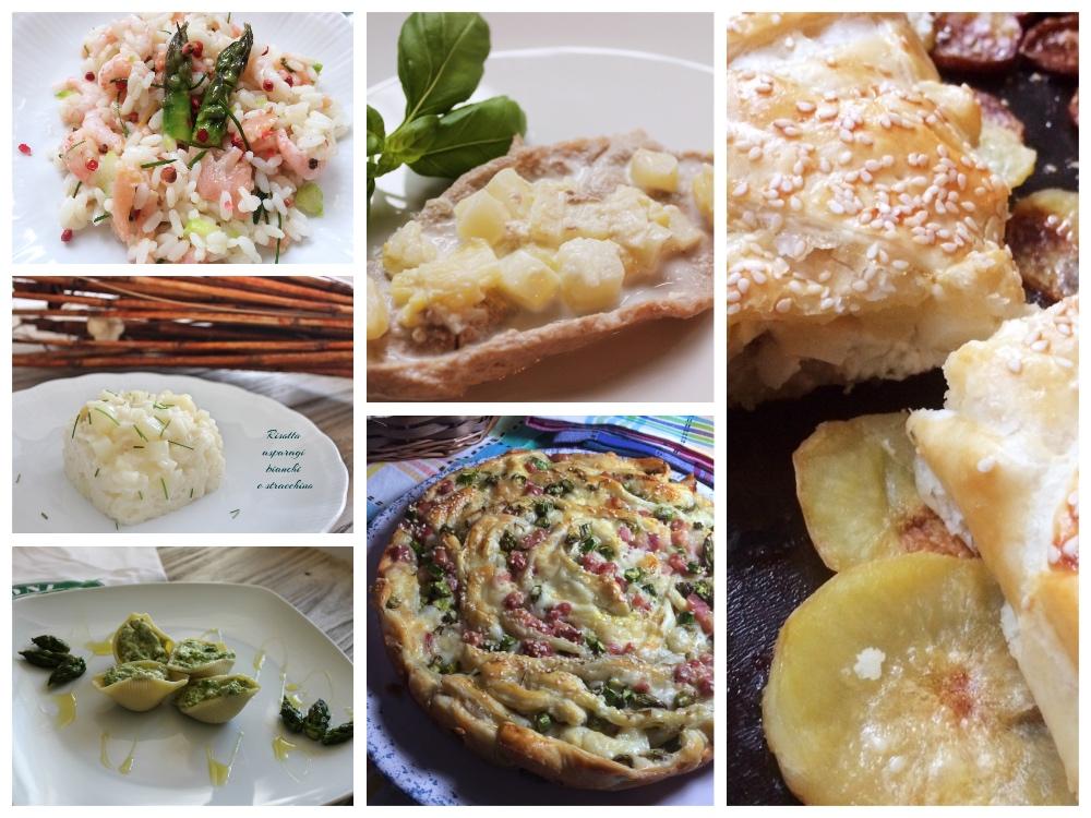 Ricette con gli asparagi ... facili facili
