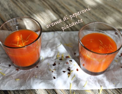 Crema di peperoni piccantina