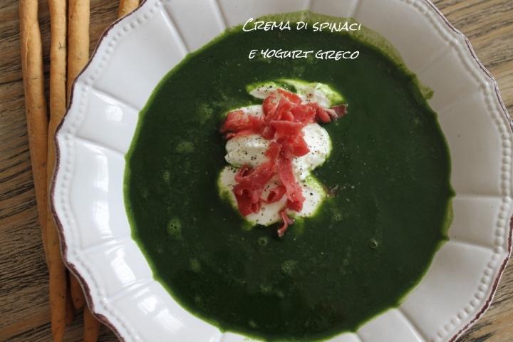 crema di spinaci e yogurt greco 2