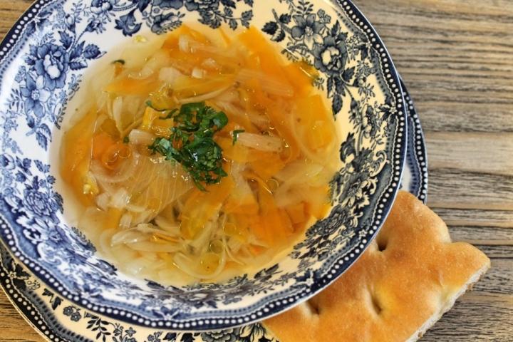 zuppa cipolla e carote