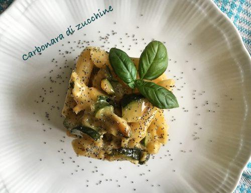 Carbonara alle zucchine…deliziosa!