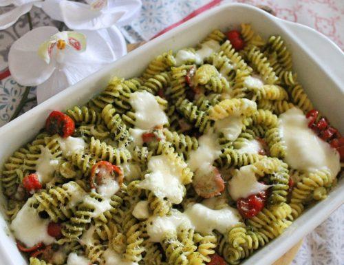 Pesto? Pasta al forno con pesto pomodorini e…