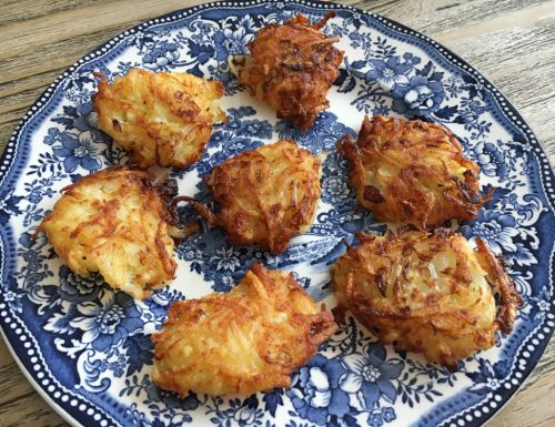 Rösti di patate e cipolle