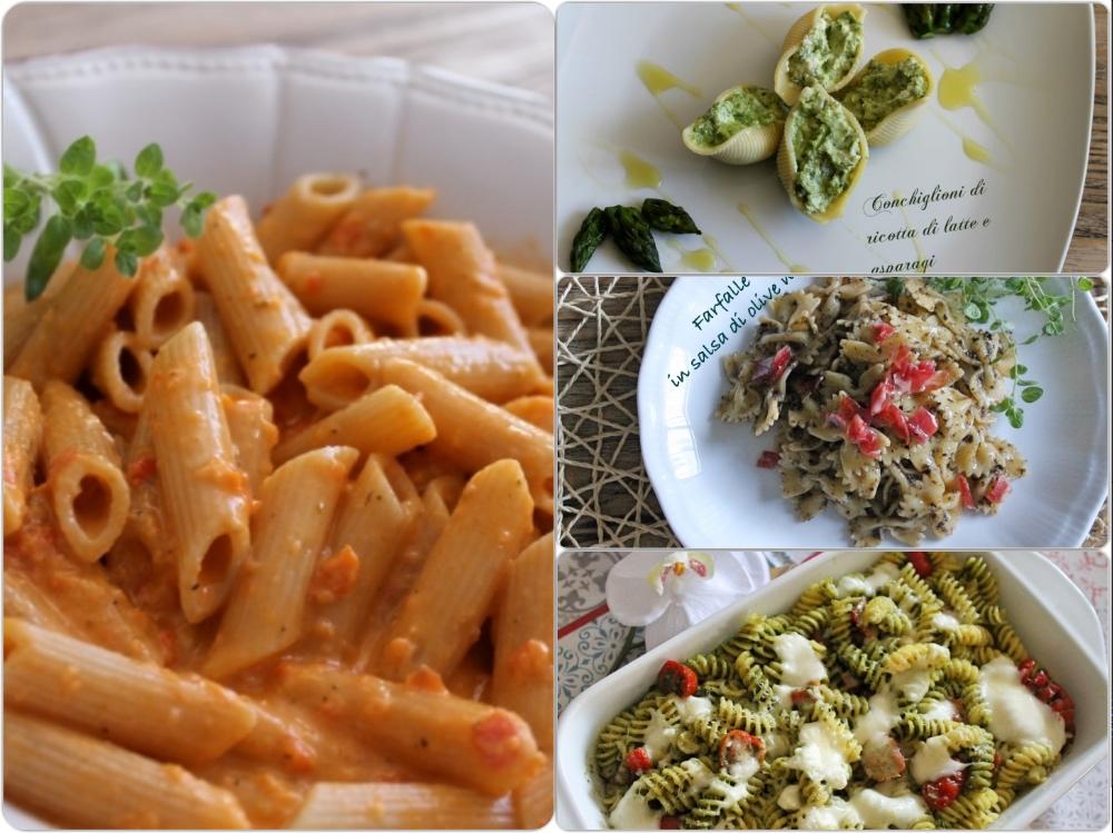 collage pasta