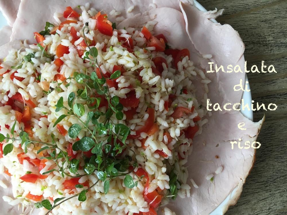 insalata di tacchino e riso 2