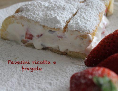 Pavesini ricotta e fragole: un dolcetto morbido e fresco!