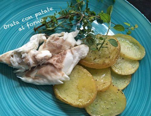 Orata con patate al forno: facile e saporita!