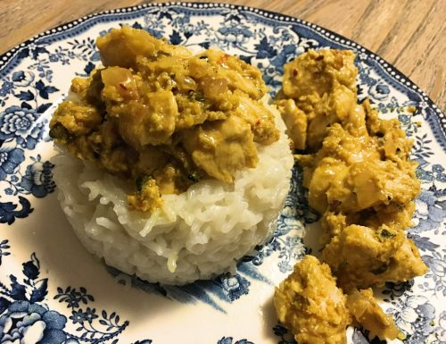 Sottofiletto di pollo al curry