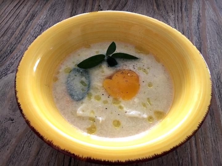 crema formaggi e uovo