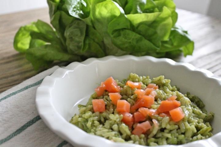 risotto-alla-lattuga-e-salmone