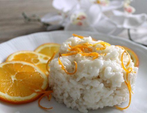 Risotto all'arancia #blumirtillo colora il risotto!