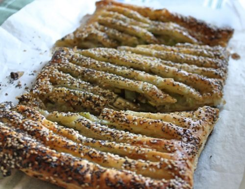 Torta salata porri e gorgonzola – la videoricetta