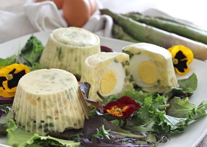 Tortini patate, asparagi e uova