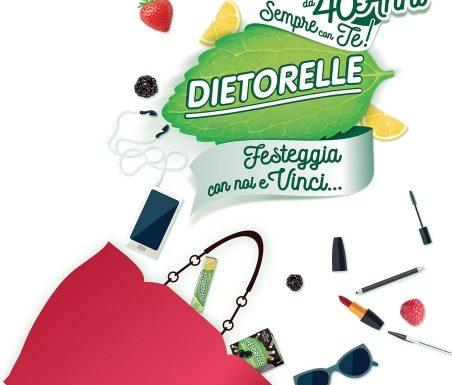 40 anni di Dietorelle: una dolcezza naturale che non stanca mai!