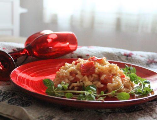 Risotto pomodorini e pecorino