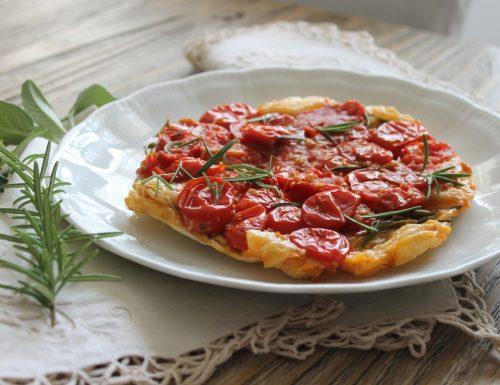 Tatin di pomodorini al rosmarino e senape