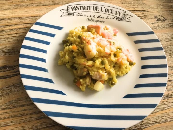 Paella Veloce Di Carne E Pesce Blumirtillo