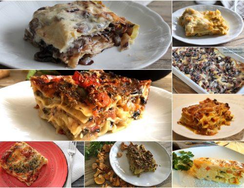 Idee Lasagne al forno per le feste