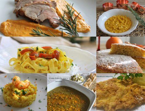 Curcuma: sana, buona, colorata! Nuove ricette!