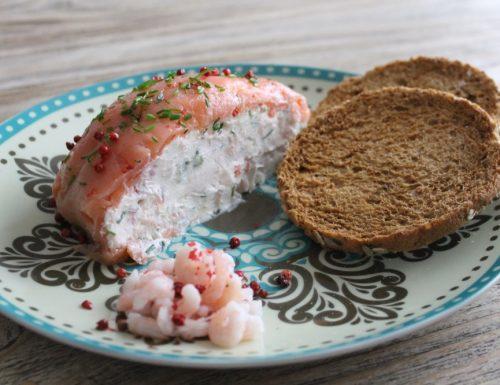Sorpresa di gamberetti e salmone