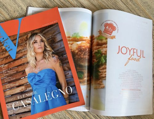 Joyful food – i colori nel cibo. Questo mese su Vpocket!