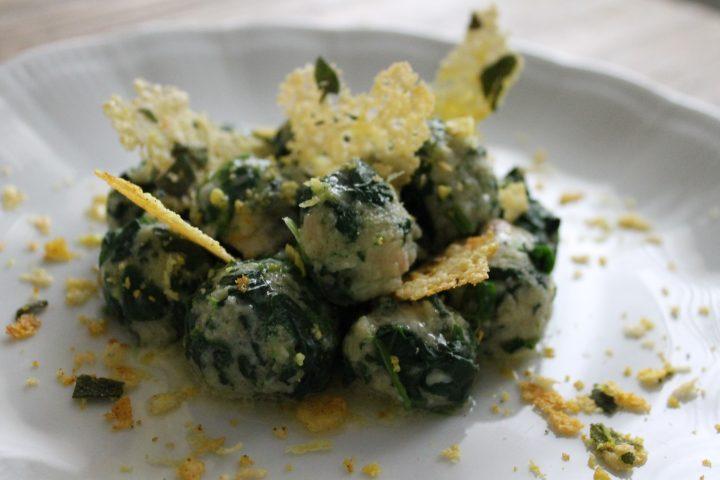 gnocchi di soli spinaci