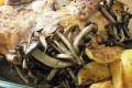 Il Pollo Scucchiàto con Patate e Funghi