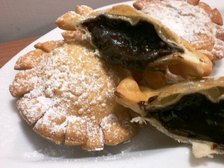 I Calzoncelli di Castagne e Cioccolato