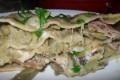 La lasagna ai carciofi